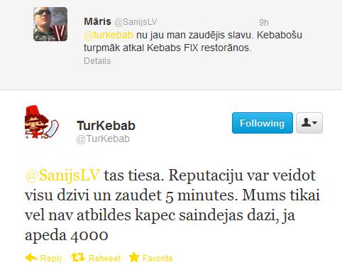 Turkebab reputācija